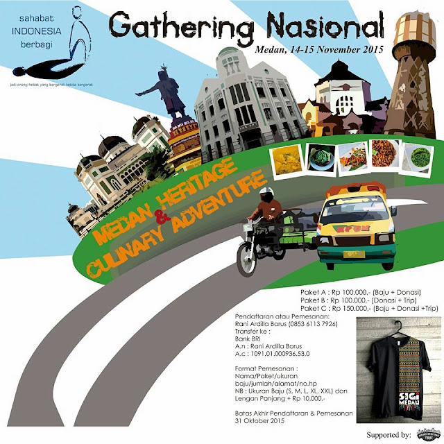 Gathering Nasional Sahabat Indonesia Berbagi - SIGi Medan