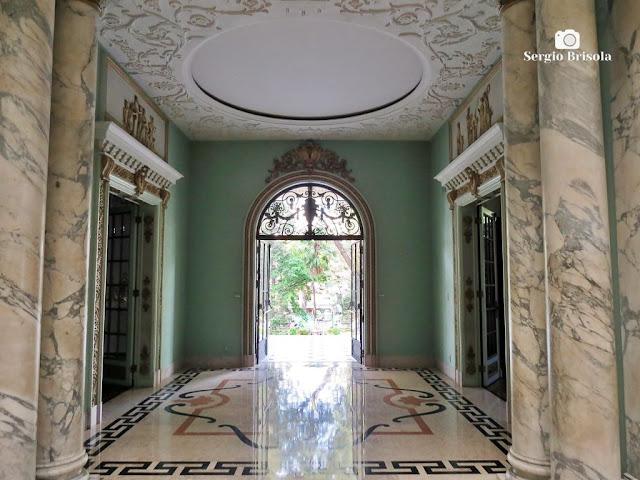 Palacete Violeta (Hall de entrada)