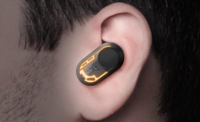 Struktur Ergonomic Tri-hold Earbuds Sony WF-1000XM3