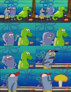Polosan meme spongebob dan patrick 3 - Kuda laut misteri