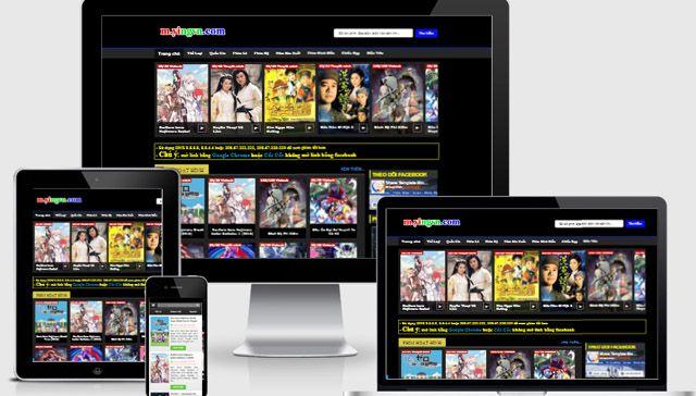 Template Blogger Phim HD HayHay Đẹp Cho Site Phim