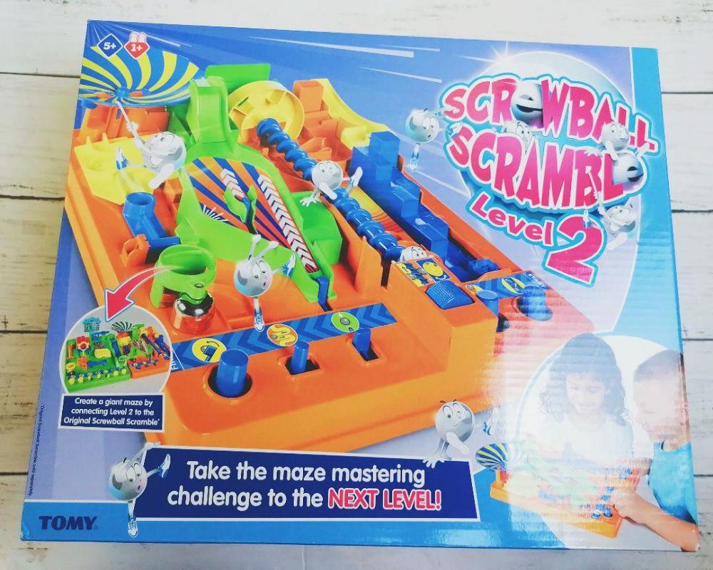 Screwball Scramble Level 2 review