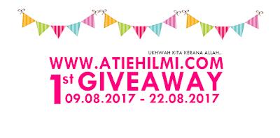 Giveaway, Blogger, Hadiah, Pemenang, Bertuah, Lucky Draw, Peserta,