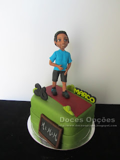 Bolo para o aniversário do Marco