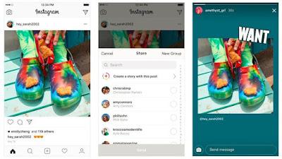 Instagram, stories, republicar, contenidos, redes sociales, Social Media,