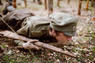 Latvia War Drama The Rifleman World War I Great War Communists Tsar Russia Germany Latvian