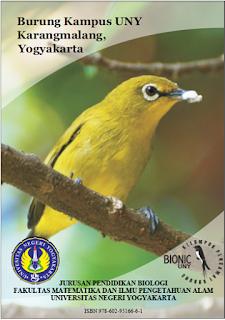Buku Panduan Lapang Burung Kampus Karya KPB Bionic UNY Akhirnya Terbit
