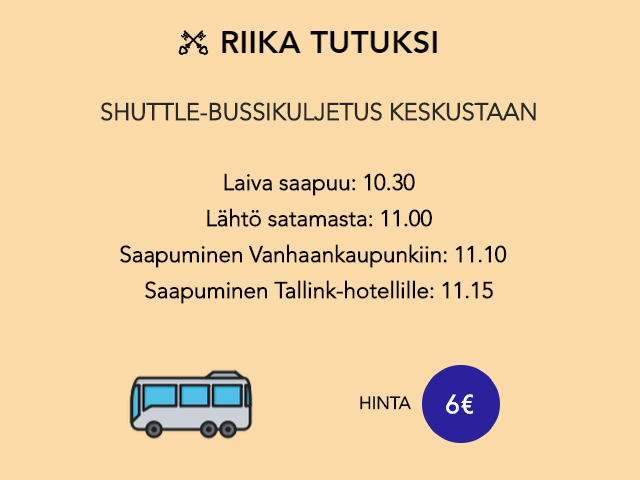 Riika Tutuksi bussikuljetus