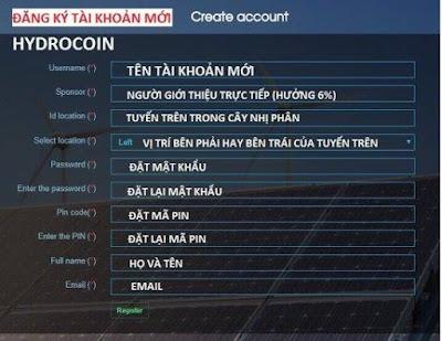 Dự án đầu tư HydroCoin HDC