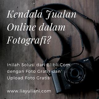Solusi jualan online dalam fotografi dari Blibli.com