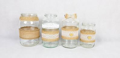 słoiki rustykalne wypożyczalnia dekoracji rzeszów ślubnażyczenie
