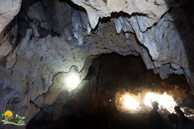 Catburan Cave owns exceptional beauty from rock formation