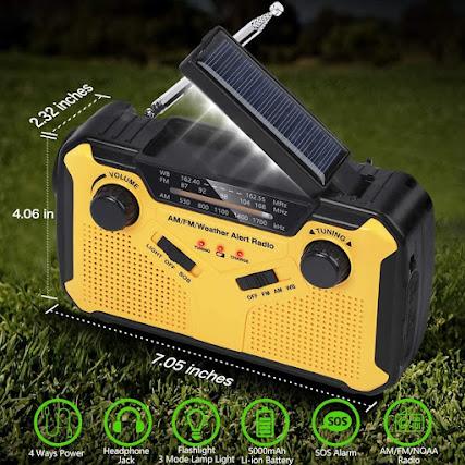 Weather Emergency Alert Radio