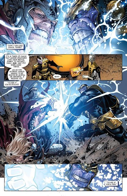 Thần Thor vs Thanos