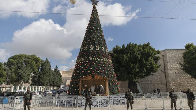 Σιωπηρά τα Χριστούγεννα στη Βηθλεέμ