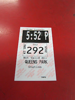 Queen's Park Station transfer