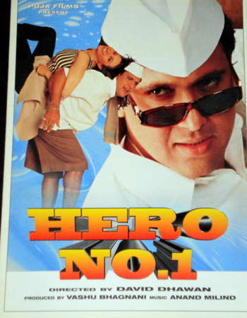Download Hero No. 1 1997 Hindi 400MB HDRip 480p