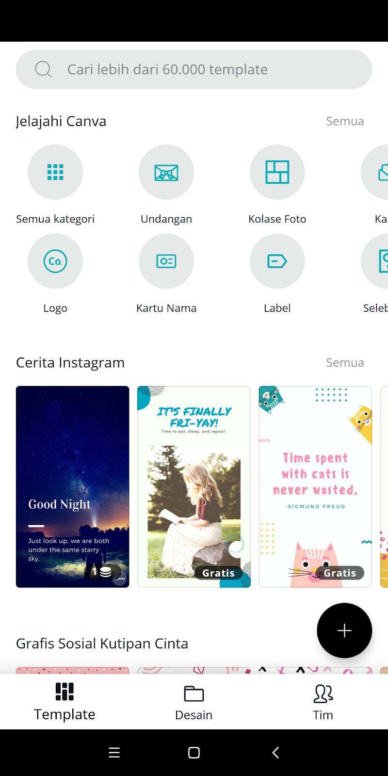 Aplikasi untuk membuat gambar promosi