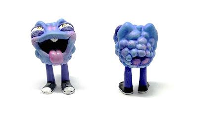 Blue Raspberry Bloom Resin Figure by One-Eyed Girl x Kyle Kirwan