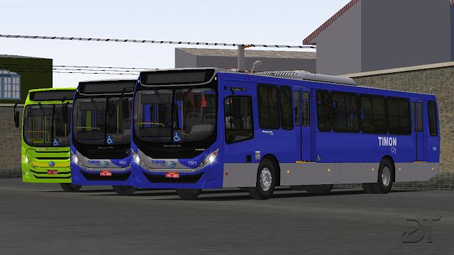 OMSI 2 - Mascarello Gran Via 2014 MB, VW e Volvo no padrão de Teresina (BRT)