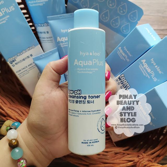 Hyaloo Aqua Plus Low-Ph Cleansing Toner Review Price