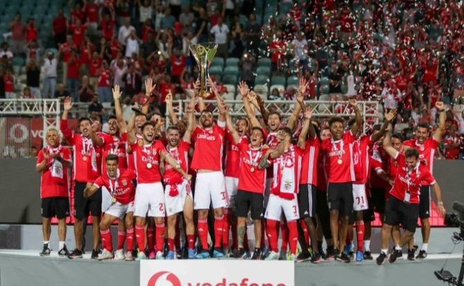 Blogs Benfica Vencedor da Supertaça de Futebol 2019