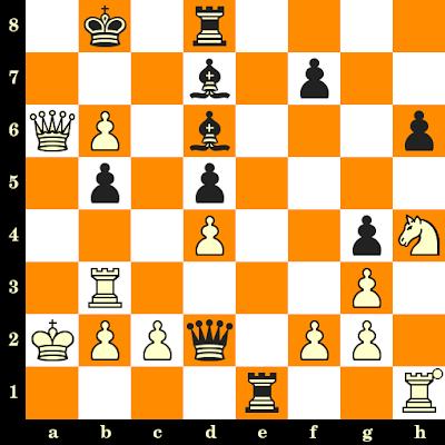 Les Blancs jouent et matent en 3 coups - Emanuel Lasker vs Frank Marshall, St Pétersbourg, 1914