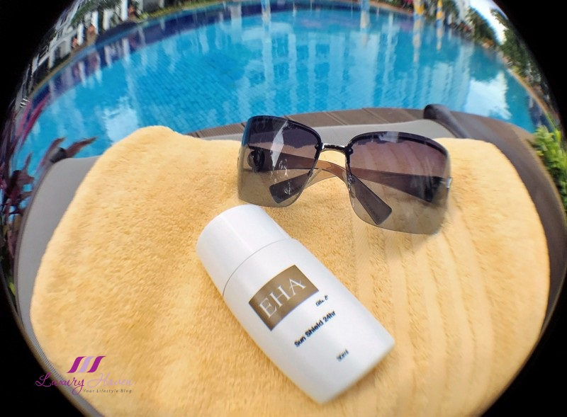 prevent sun damage with spf 100 sunscreen