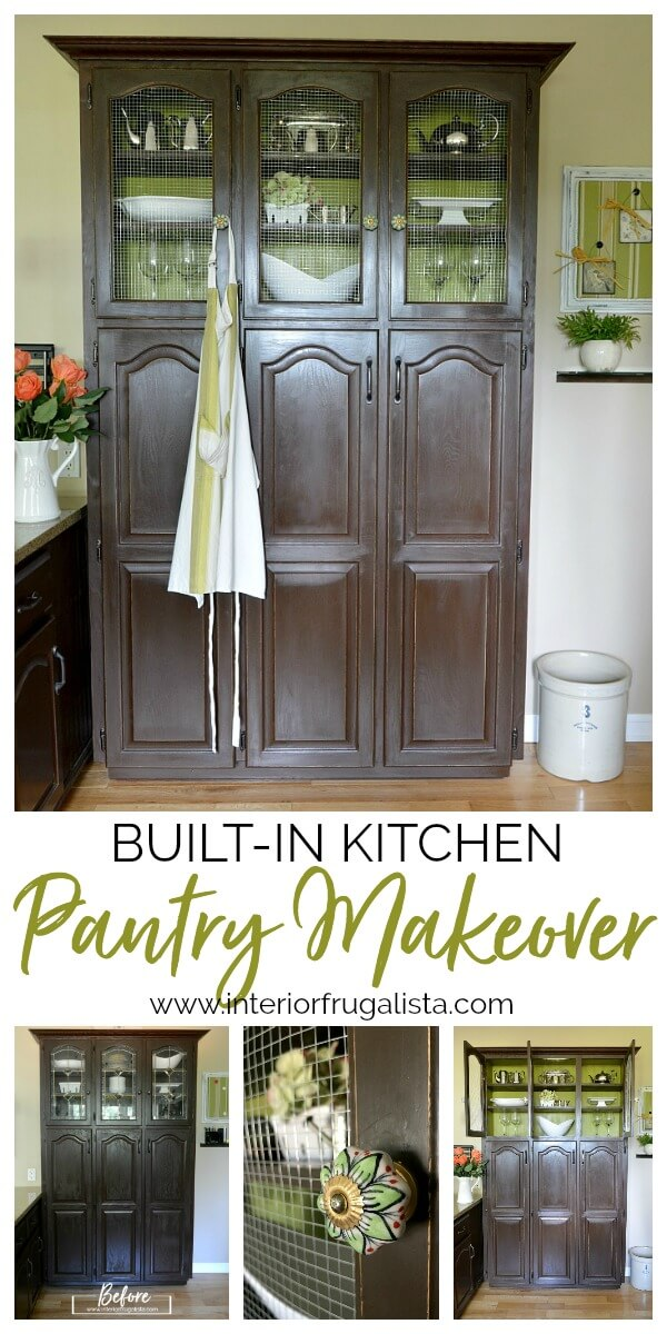 Built-In Kitchen Pantry Makeover