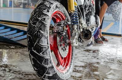 tips mencuci sepeda motor
