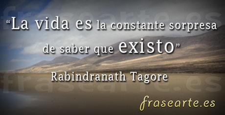 frases para vivir Rabindranath Tagore