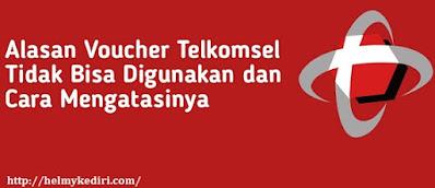 mengatasi voucher Telkomsel tidak bisa digunakan