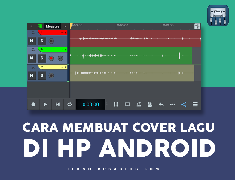 Cara Membuat Video Cover Lagu di HP ANDROID
