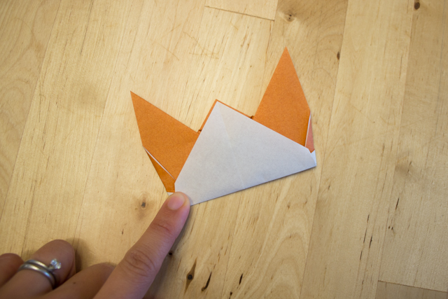 How to make Origami Fox - YouTube | 427x640