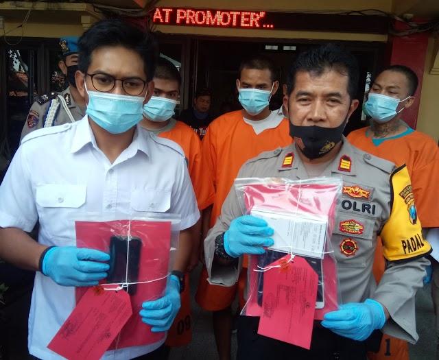 Persekongkolan Kejahatan Di Bongkar Polsek Asemrowo Surabaya