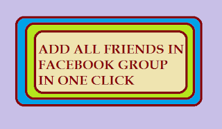 Add All Facebook Friend In Group