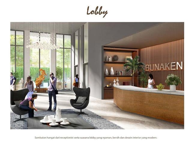 Lobby Sentraland Cengkareng