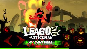 League of Stickman Zombie Mod v1.2.2 APK Free Shopping Terbaru