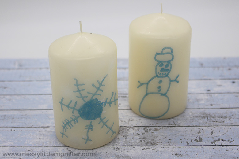 How to make personalised candles