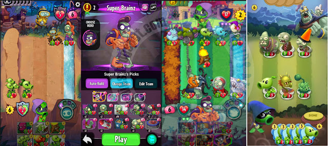 Plants vs Zombie APk v1.8.23 + Mod coins gems turn And hp