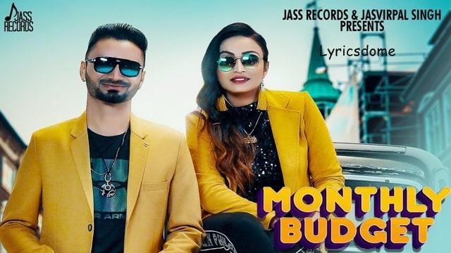 Monthly Budget Lyrics - Meet Brar