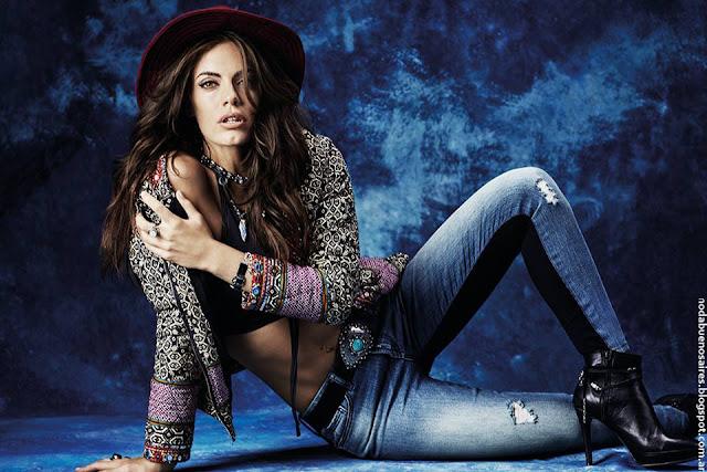 Moda mujer otoño invierno 2016 Sweet colección otoño invierno 2016 jeans.