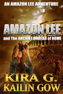 Amazon Lee and the Ancient Undead of Rome cover