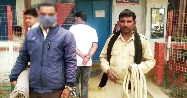 गुप्त सूचना के आधार पर मेघवन गांव से गिरफ्तार हुआ रेप का आरोपी, भेजा गया जेल