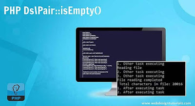 PHP Ds\Pair::isEmpty() Function