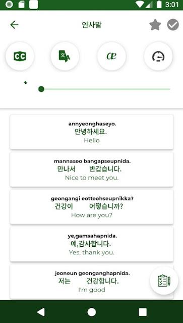 Belajar Bahasa Korea - Mendengarkan Dan Berbicara