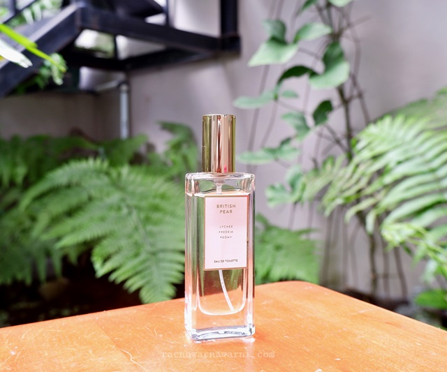 Review Miniso British Pear EDT