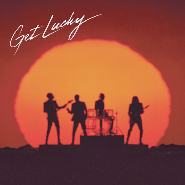 Daft Punk - Get Lucky (Radio Edit) [feat. Pharrell Williams] - Single Cover