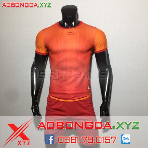 Áo Không Logo Mã XYZ-35 2020 Màu Đỏ Cam