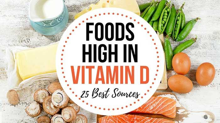 Foods Source of Vitamin D